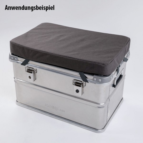 Seat cover for aluminum boxes