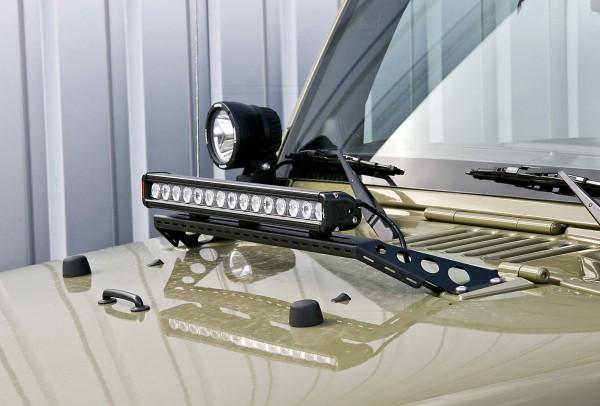 Nakatanenga Lampenbügel Motorhaube Jeep Wrangler JK