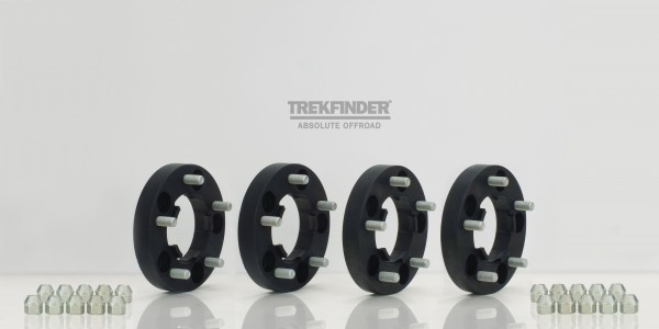 Trekfinder Wheel Spacers for Land Rover Defender 90/110/130, 46mm per axle