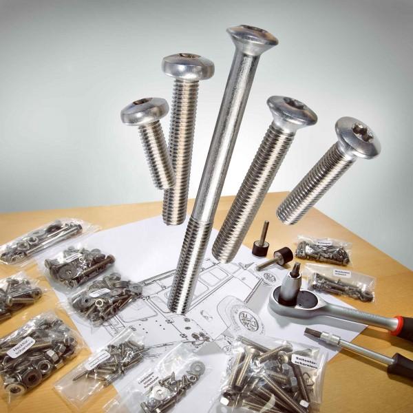 Stainless Steel Fixing Kit for Land Rover Defender 90/110/130