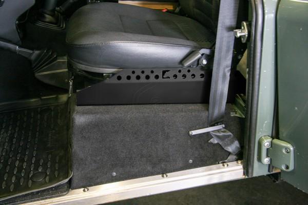 Sitzschienenverlängerung Defender schwarz