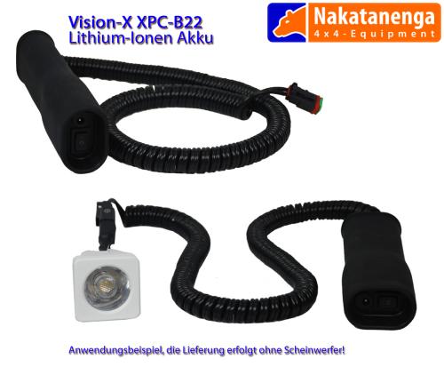 Vision-X Lithium Ionen Batteriepack