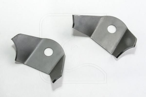 Halter für Doppeldämpferanlage, hinten