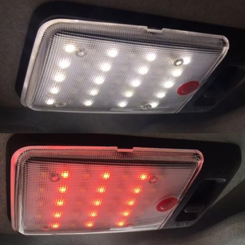 Nakatanenga LED Innenraumleuchte Hunter, Universal (nicht Defender), warmweiß