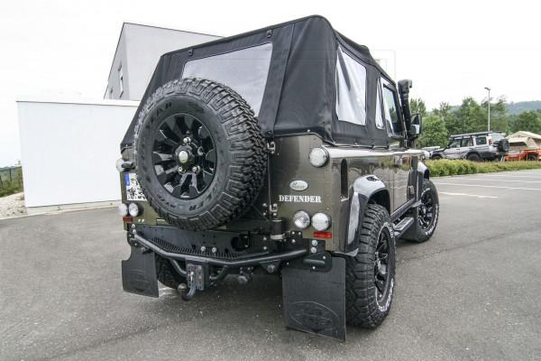 Land Rover Heckstoßstange / Anhängebock / Hecktritt für Defender 110