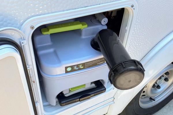 Dometic Toilette Serie CT3xxx CT4xxx, Verschlusskappe