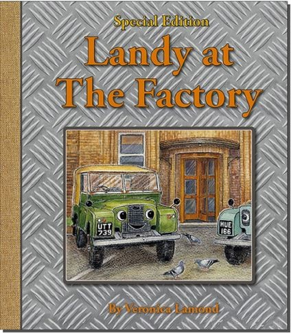 Children's book - Landy at the Factory