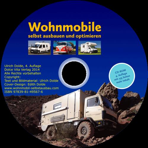 CD-ROM: Wohnmobile selbst ausbauen
