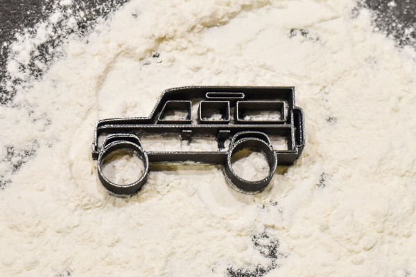 Land Rover Defender cookie cutter