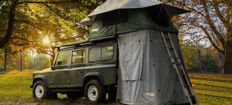 ROOF LODGE EVOLUTION 2017 & Nakatanenga 4x4-Equipment for Land Rover Offroad u0026 Outdoor