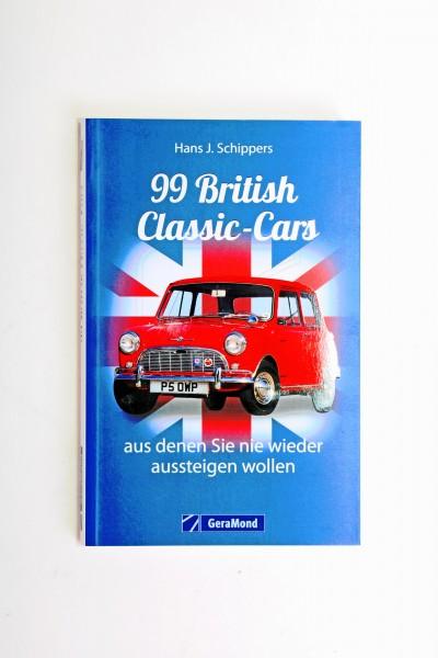 Buch: 99 British Classic-Cars