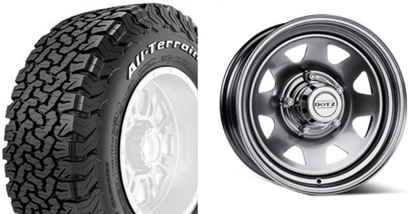 Defender Dotz dakar wheels