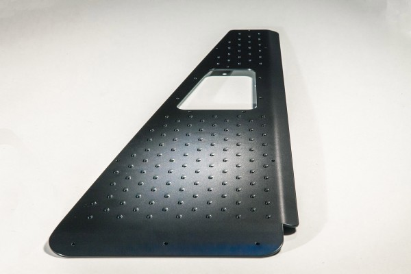 Chequer plate wing top protection for all Land Rover Defender 90/110/130 from MY 2007