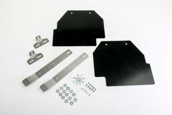 Nakatanenga Schmutzfangplatte mit Edelstahl-Halter