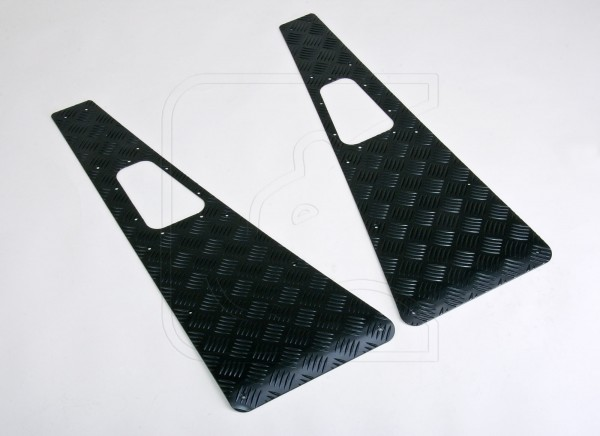 Chequer plate wing top protection for all Land Rover Defender 90/110/130 MY 2007-2016