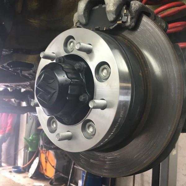 Wheel spacers Suzuki Jimny II