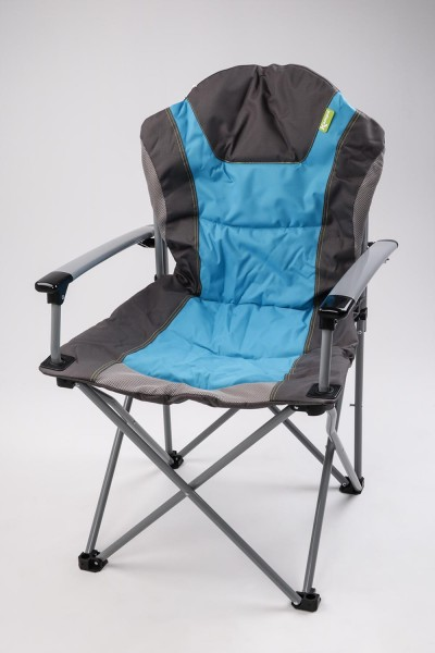 KAMPA The Guv´nor - Luxus-Campingstuhl blue / blau