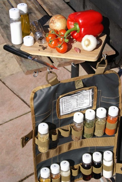 Tool Roll Spice incl spice container