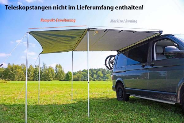 Roof Lodge Evolution Kompakt-Erweiterung für Auto Markise