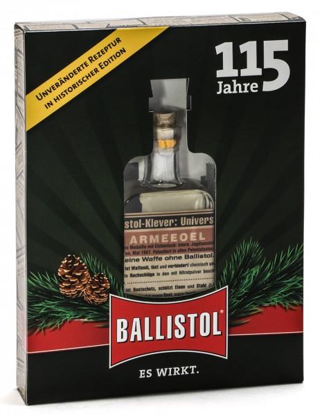 Ballistol universal oil nostalgia glass bottle in gift box