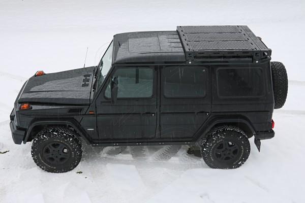 CargoBear - Dachträger mit System für Mercedes G