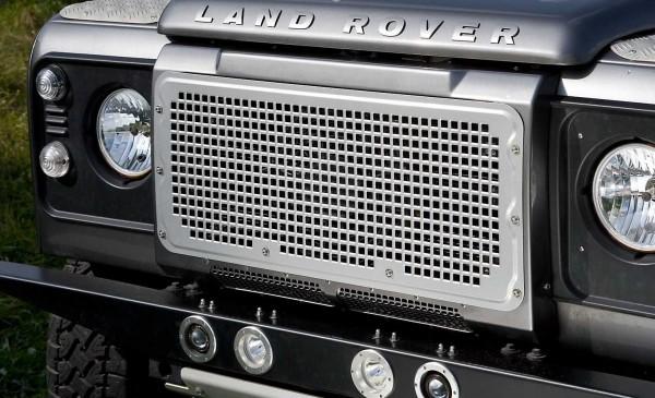 Heritage Style Kühlergrill Aluminium für Land Rover Defender