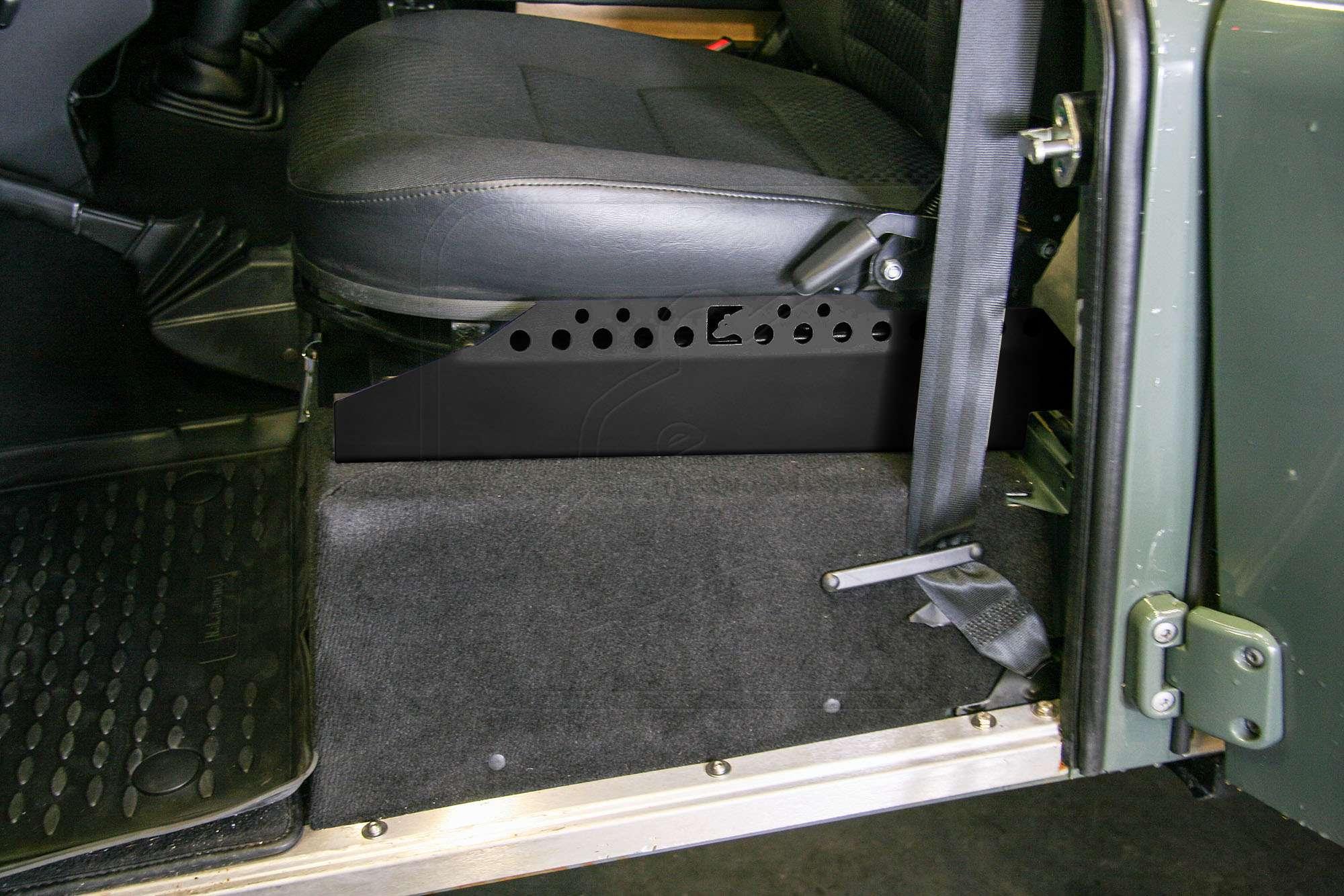 Gummifußmatten für VW Volkswagen Caddy 2K 2003-5Sitze 4tlg12
