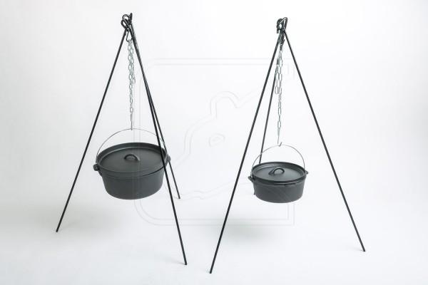 Cast-Iron Cookware - Gusseisen Outdoor Kochset