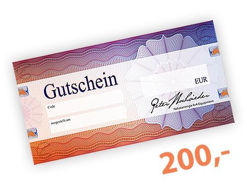 200 EUR Geschenk-Gutschein