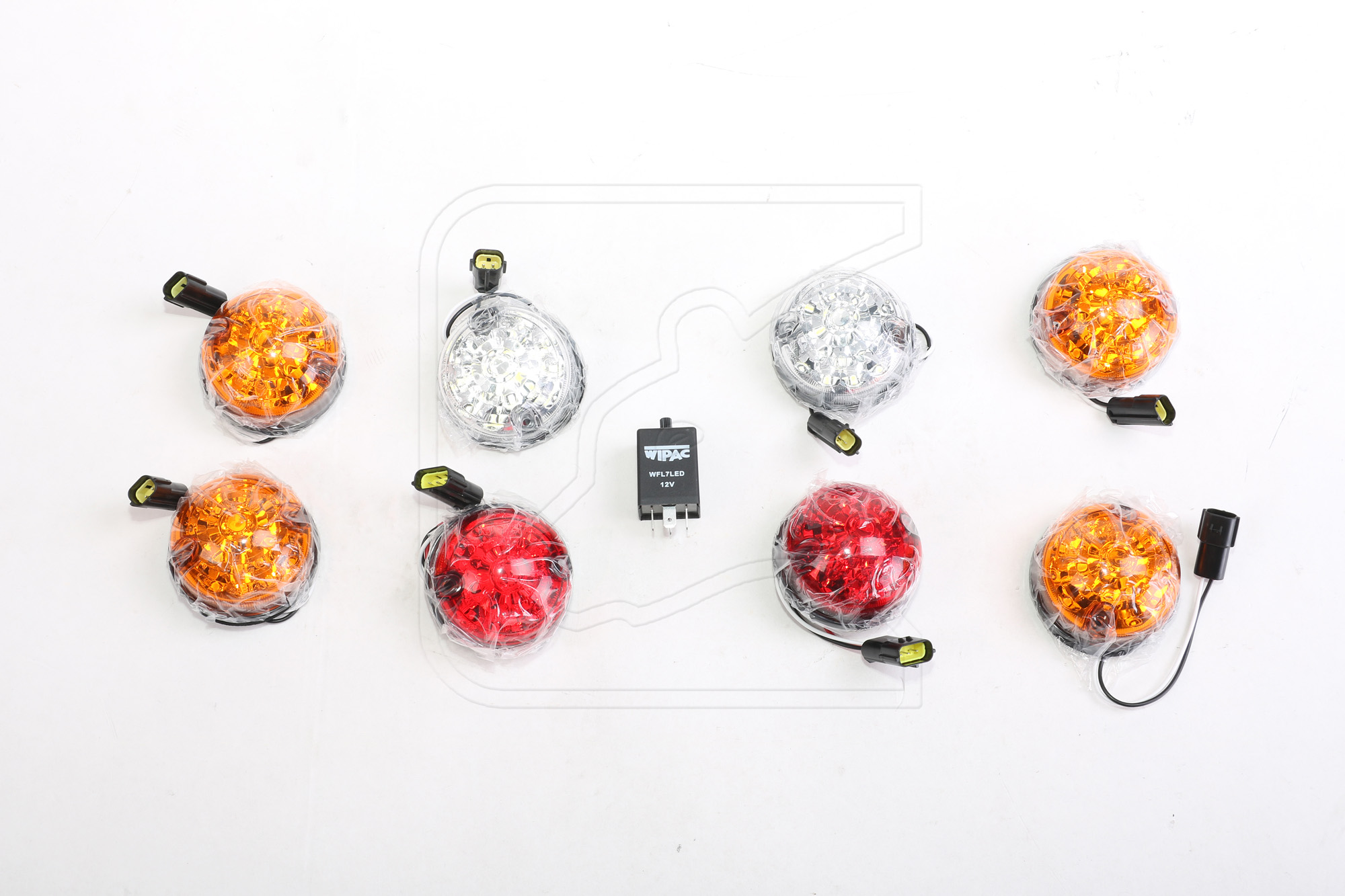 Plug/&Play-schwarz NAKATANENGA LED BREMSLEUCHTE Hecktür für Land Rover Defender