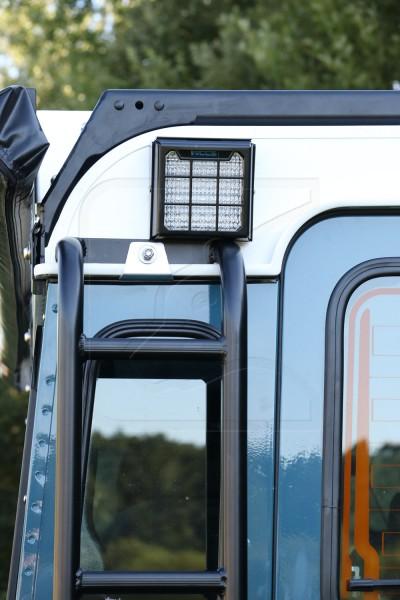 Bundle: Nolden LED Arbeitsscheinwerfer / Rückfahrscheinwerfer mit Schutzgitter
