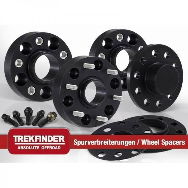 Spurverbreiterungen TREKFINDER für Discovery, Freelander II, Evoque, 40/44/50/60mm, mit TÜV Gutachte