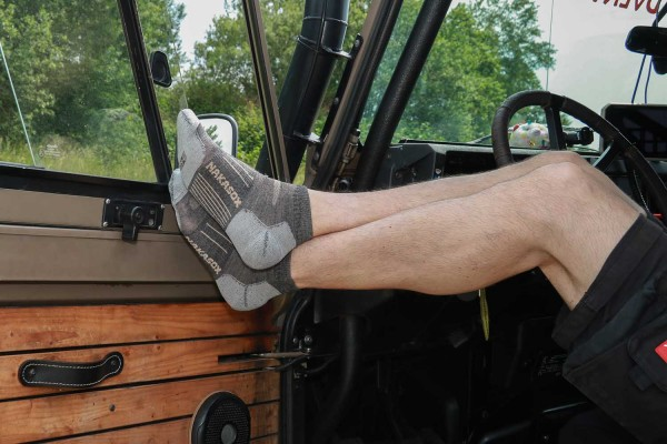 Merino summer socks