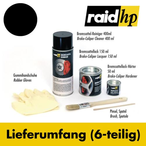 RAID Brake Calliper Paint, Black