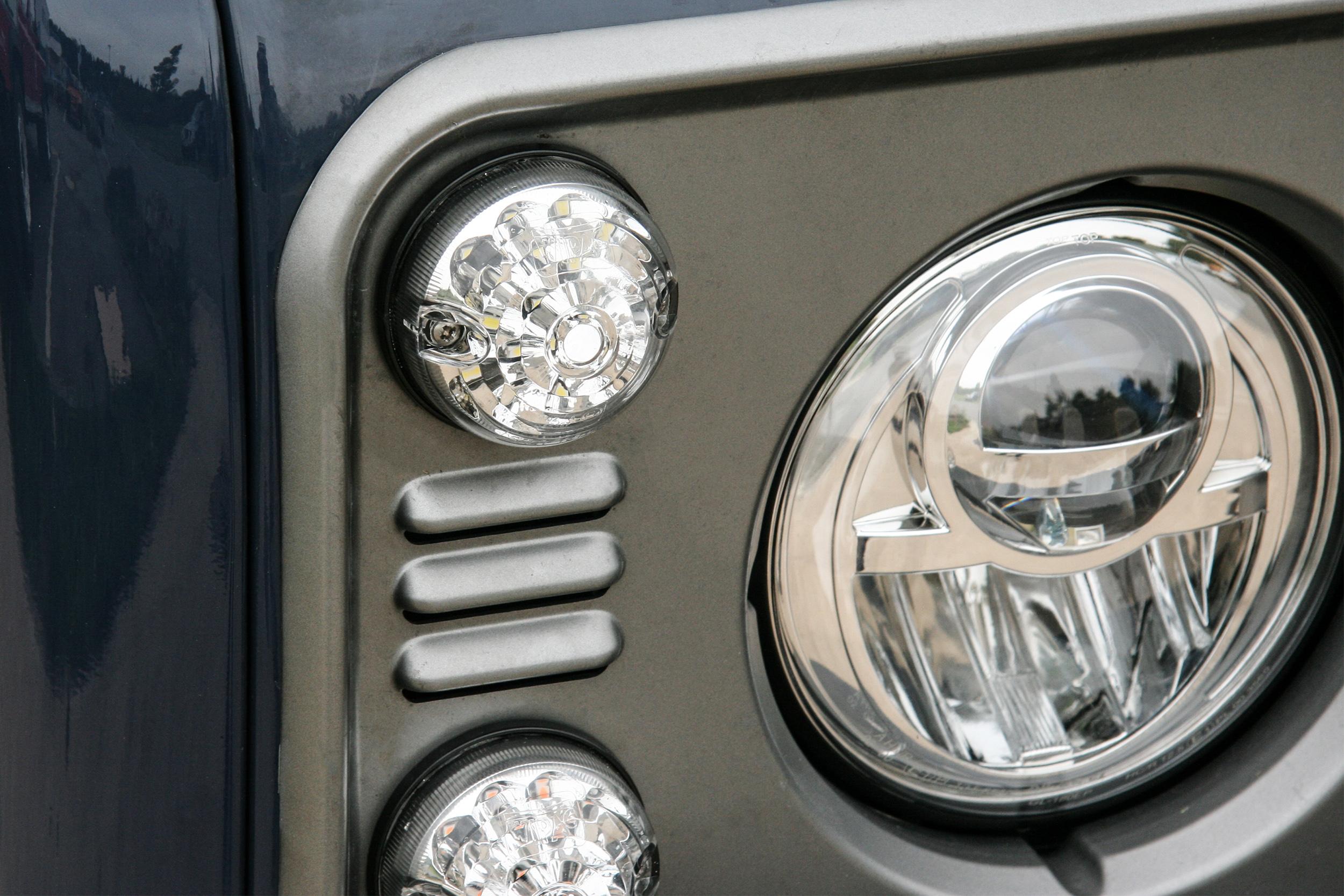 Nakatanenga LED Tagfahrlicht und Positionslicht für Land Rover ...