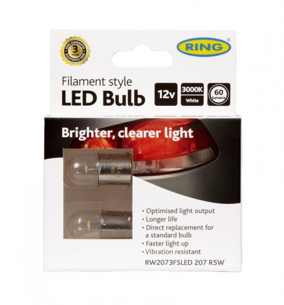 RING LED Bulb - Filament style, RW2073
