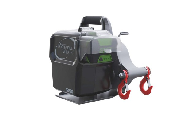 Portable winch with battery operation 80/82V, PCW3000-LI