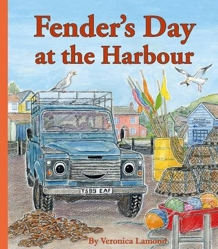 "Kinderbuch ""Fender´s Day at the Harbour"""