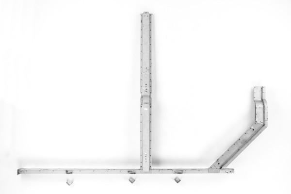 Reparaturblech Set B-Säule und C-Säule 3-teilig linke Seite