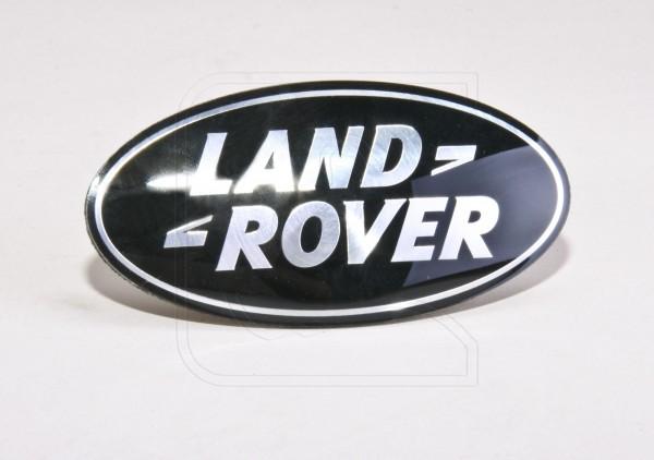 Land Rover Logo Tür, Farbe: schwarz-silber
