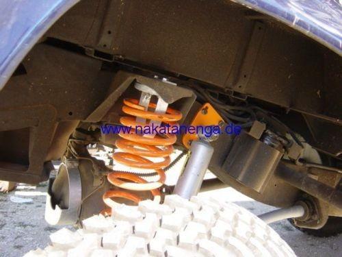 Stoßdämpferaufnahme für Land Rover Defender, Hinterachse, oben